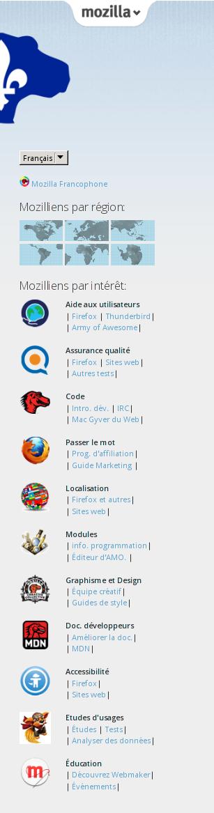 Mozilla one in mozilla Québec